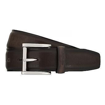 Cinturones de Strellson cinturones hombre cuero cinturón gris 7566
