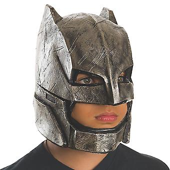 Armored Batman v Superman Dawn of Justice Superhero Boys Costume Full Vinyl Mask