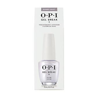 OPI Nail tratament gel Break perfuzat strat de bază ser,. 5oz