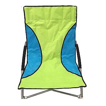 Green Nalu Folding Low Seat Beach Chair Camping Chair
