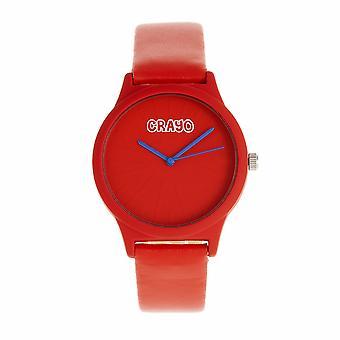 Crayo splat unisex Watch-vermelho