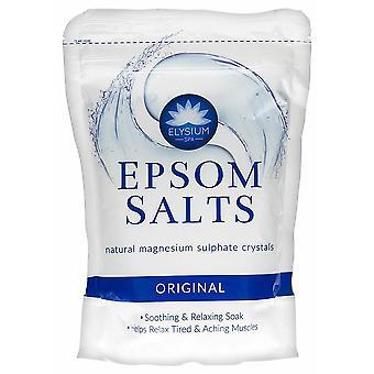 Elysium Spa Epsom bagno sali naturali magnesio solfato cristalli 1kg originale