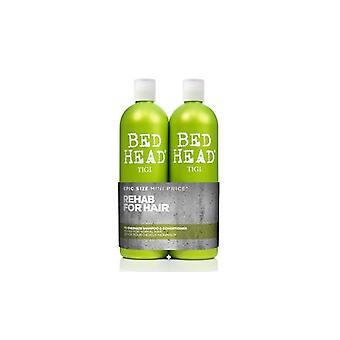 BED HEAD by TIGI Urban Antidotes Re-energise Shampoo & Conditioner 750ml
