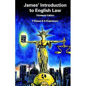 James Introduktion til engelsk lov af sakse & Peter
