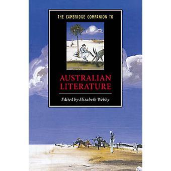Cambridge Companion to Australian Literature de Elizabeth Webby