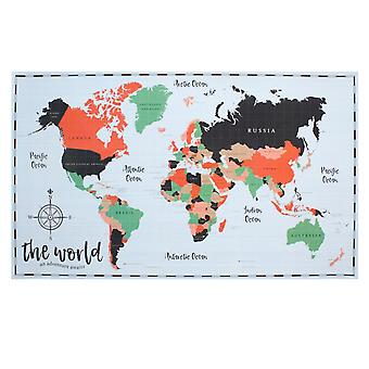 Etwas anderes Abenteuer erwartet Welt Reveal Map Poster