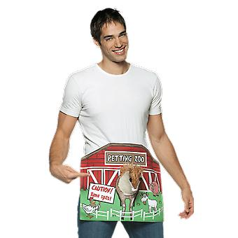 Mens Petting Zoo Willy Rude & Naughty Fancy Dress Costume