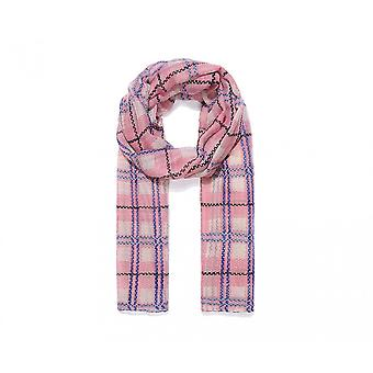 Intrigue Womens/Ladies Checked Print Scarf