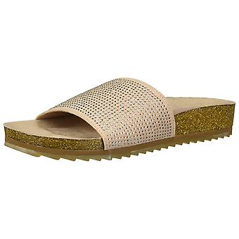 LFL by Lust for Life Womens LL- Maxim Fabric Open Toe Casual Slide Sandals