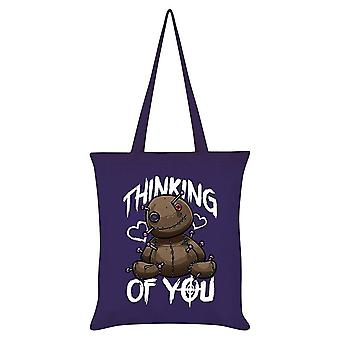 Grindstore Thinking Of You Tote Bag