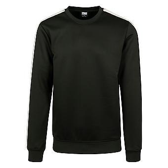 Urban Classics Men's Sweatshirt Sleeve Taped