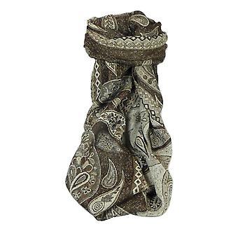 Schalldämpfer Schal 4003 in Fine Pashmina Wolle Heritage Range von Pashmina & Seide