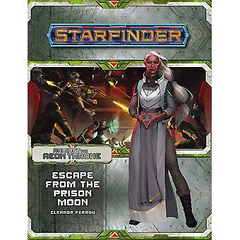 Starfinder Adventure Escape from the Prison Moon Against the Aeon Throne 2 of 3