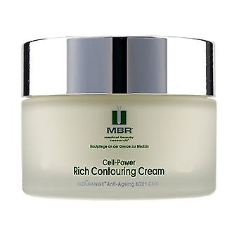 Mbr Medical Beauty Research Biochange Anti-ageing Body Care Cell-power Rich Contouring Cream - 200ml/6.8oz