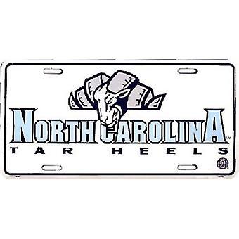 North Carolina Tar Heels NCAA License Plate