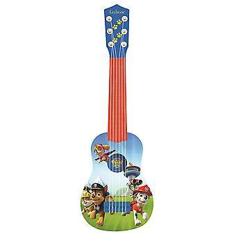レキシブックポーパトロールチェイス私の最初のギター - ブルー/レッド(モデルNo.K200PA)
