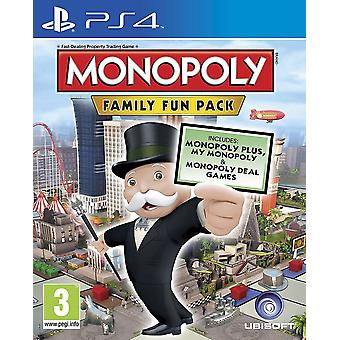 Monopolie Family Fun Pack PS4 spel