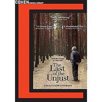 Last of the Unjust [DVD] USA import