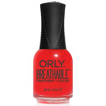 Orly BREATHABLE Treatment + Color - Vitamin Burst (20955) 18ml