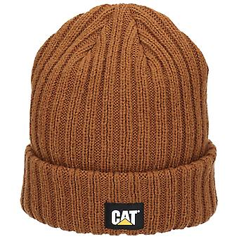 Caterpillar Unisex Rib Watch Cap Bronze