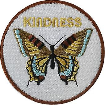 Patch - Inspirational - Kindness With Butterfly Icon-On p-dsx-4858