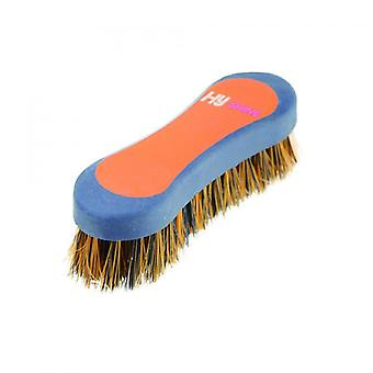 Hy Shine Pro Groom Hoof Brush - Navy/Orange