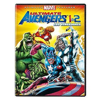 Divisa Avengers: Ultimate Avengers 1 + 2 (2 DVD's)