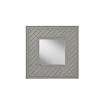 Feiss MR1182HGG Trellis Collection Mirror Hi Gloss Grey