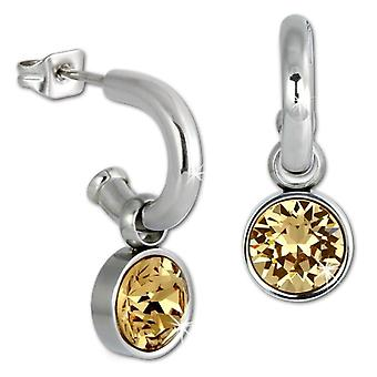 Amello - Pin Earrings - Stainless Steel - Woman