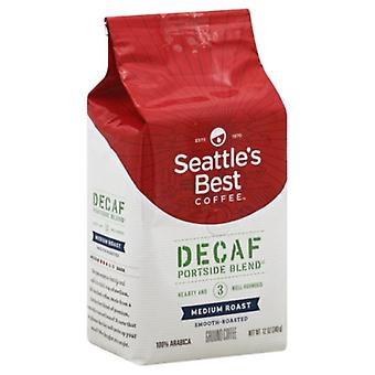 Seattle ' s cel mai bun nivel de cafea 3 Decafeinizat Ground port Blend