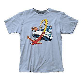Fantastico Quattro Auto Uomini's T-Shirt