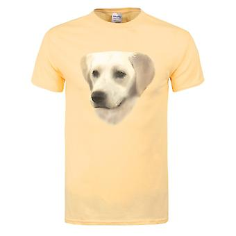 T-shirt Grindstore Mens Golden Labrador