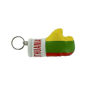 Cle Cles sleutel vlag Litouwse bokshandschoenen vlag