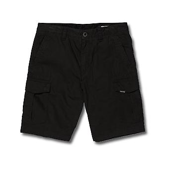 Volcom Miter II Cargo Shorts in Black