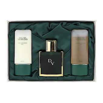 Houbigant Duc De Vervins L'elegance Pour Homme 3 Piece Gift Set