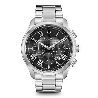 ブローバ 96B288 メン&アポ;クラシックウィルトン腕時計