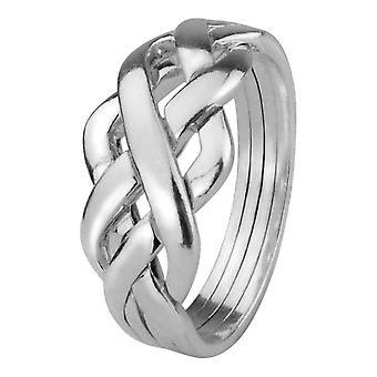 Celtic evighet interlace pussel ring