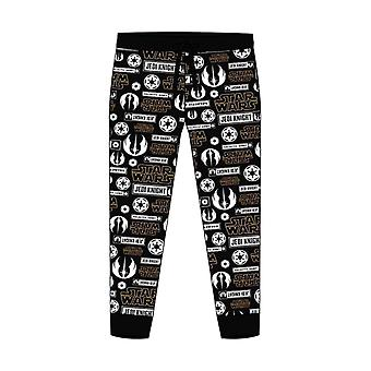 Men's Star Wars All Over Print Cuffed Lounge Pants