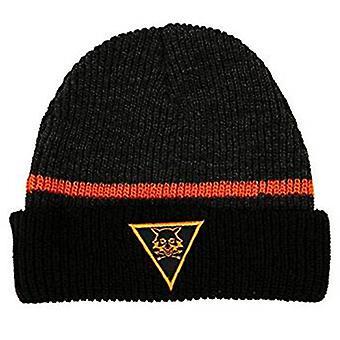 Beanie Cap - The Division - Survivalist Black Acrylic Knit Hat j10507