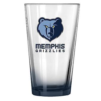 Fanatici NBA 450ml, pint glazen - Memphis Grizzlies