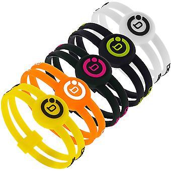 Bioflow Sport Twin Silikon Magnetische Therapie Armband - verschiedene Farben