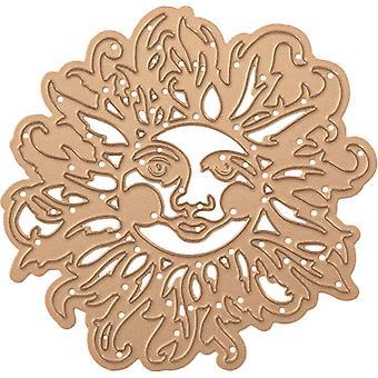 Spellbinders Shapeabilities Die D-Lites By Sharyn Sowell - Sun Face