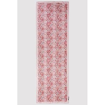 Premium crepe scarf i Rosen rosa