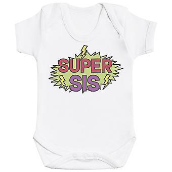 Super Siblings - Matching Kids Set - Baby Bodysuits - Gift Set