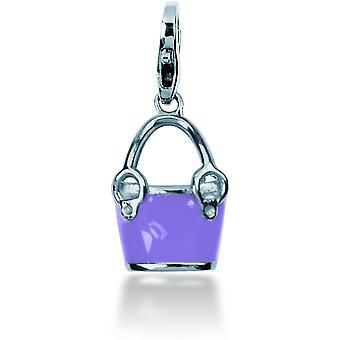 Charm Pierre Lannier JC99A120 - Charm Pendentif Seau Violet Femme