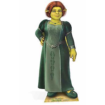 Prinses Fiona uit Shrek levensgrote kartonnen uitgesneden / Standee / Standup
