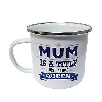 Caneca da lata do Mum do History & Heraldry