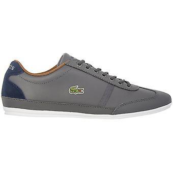 Lacoste Misano Sport 7-34CAM0046248 Herren Schuhe Grau Sneaker Sportschuhe