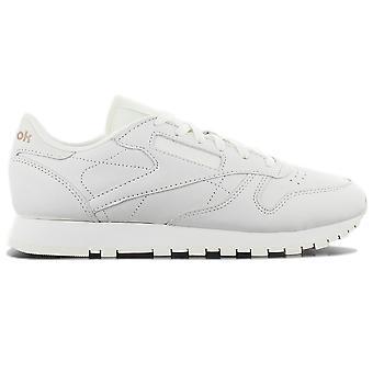 Reebok Classic Leather FBT Suede BS6591 Damen Schuhe Weiß Sneaker Sportschuhe