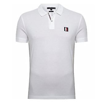 Tommy Hilfiger mannen Tommy Hilfiger Bright White badge Polo